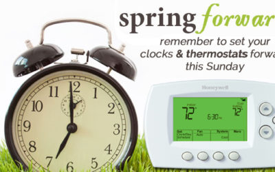 Daylight Saving Time & Your Thermostats