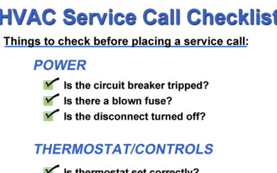 4 Simple Ways to Avoid a Service Call